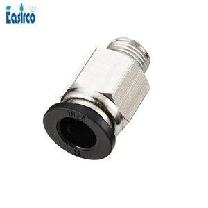(10 unids/pack) 1/8 ''rosca macho 8mm (o 6mm) enganche rápido neumático en la articulación. Envío Gratis