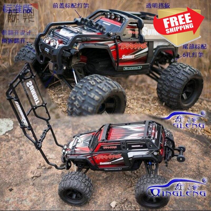 Rc voiture TRAXXAS SUMMIT rouleau Cage barre de Protection de la coque du corps 1/10 livraison gratuite