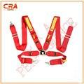 CRA Rendimiento-SA Aprobación de LA FIA 3 pulgadas 4 puntos de Liberación Rápida Rojo Racing Cinturones de Seguridad/Cinturones de Seguridad/Arnés