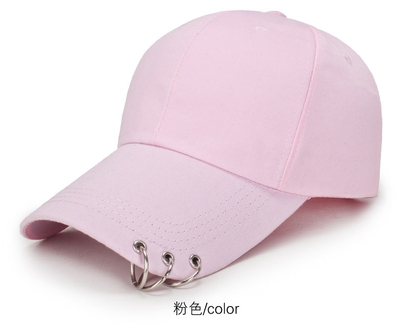 bdd7a7b0d82 Baseball cap with rings bts jimin hat bts suga cap BTS LIVE THE WINGS TOUR kpop  bts cap Iron Ring Hats Baseball cap 100% handmad