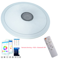 ltra thin modern LED ceiling light RGB dimmable 36W APP Bluetooth music light + remote control living room baby bedroom ceiling