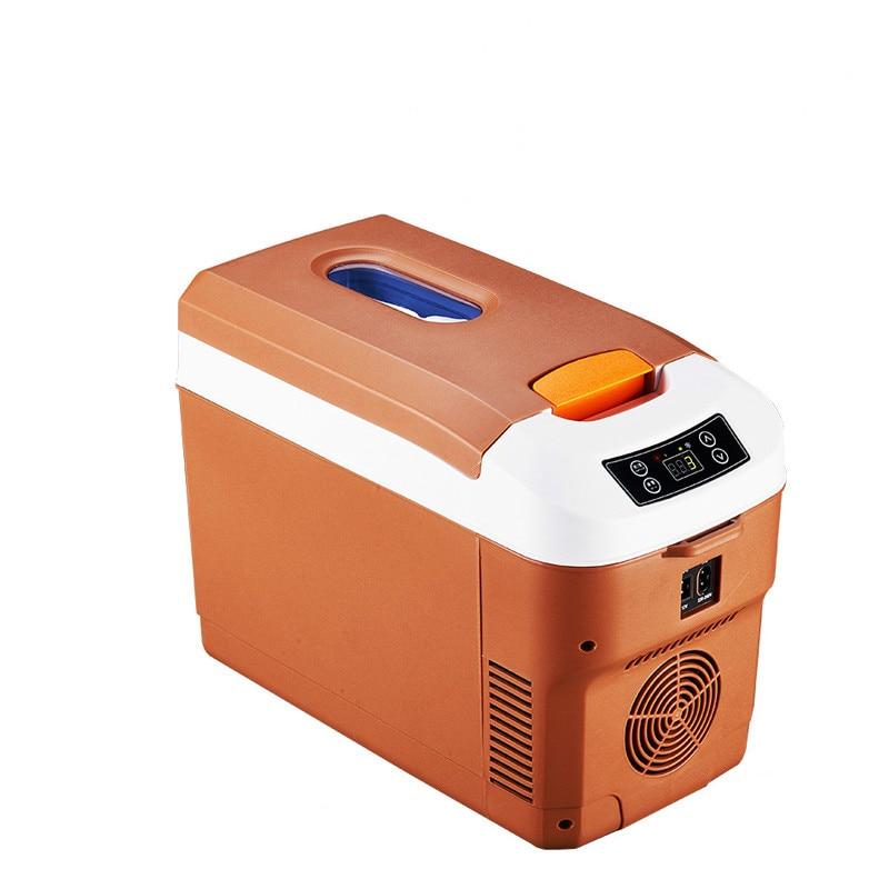 12V Car Refrigerator 220V Car And Home Dual-use Small Refrigerator Portable Refrigerator Refrigeration And Heating Mini Fridge
