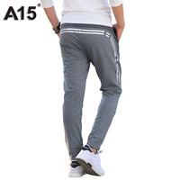 A15 Kids Pants For Children Kids Boy Casual Sport Trousers Print Teenage Clothes For Boy Elastic