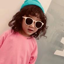 MYT_0116 Kids Sunglasses Boys And Girls Retro Children Round Sun Glasses Vintage Baby Oculos Eyewear