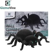 Radio Control RC Animals Simulation Furry Tarantula Electronic Spider Toy Children Kids Gift Halloween Festival kids toys