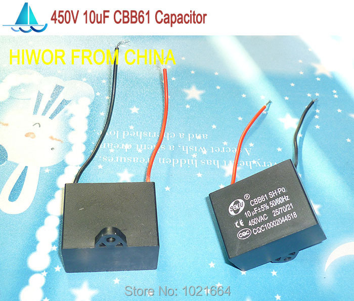 Aliexpress Com   Buy  5pcs  Lot  Cbb Capacitors 10uf 450v