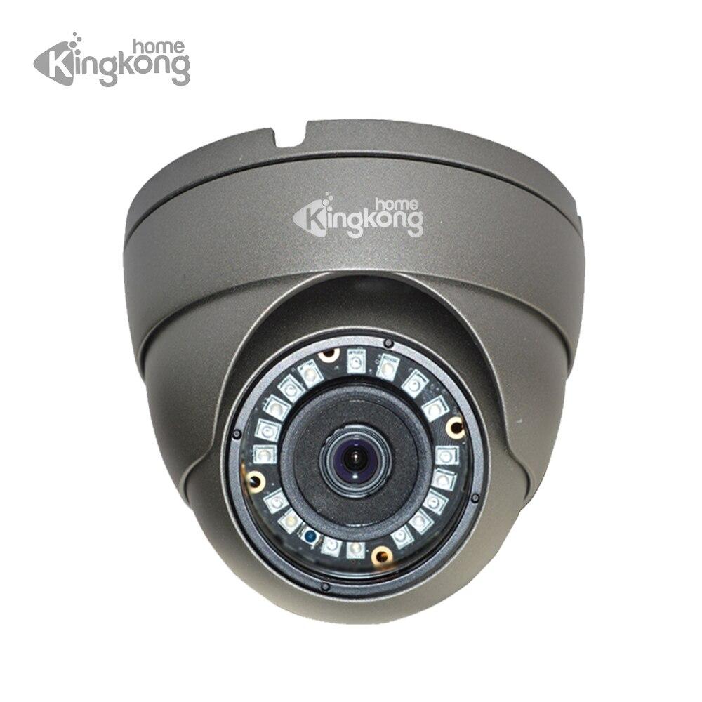 Kingkonghome 48 V POE cámara IP 1080 p 960 P 720 p de vigilancia CCTV cámara de seguridad de ONVIF impermeable al aire libre de Metal dome IP Cam