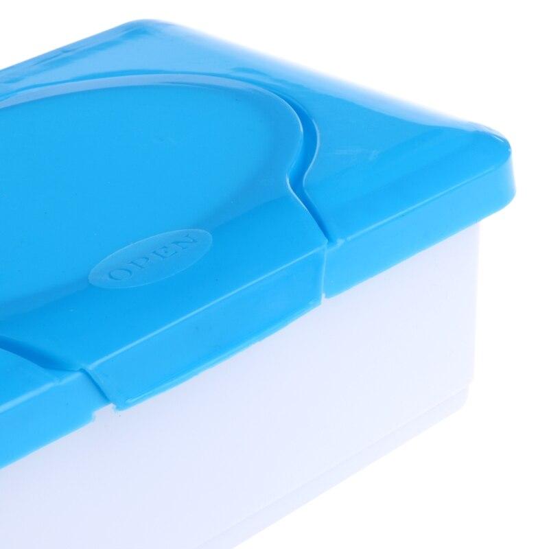 Dry Wet Tissue Paper Case Baby Wipes Napkin Storage Box Holder Contai Lq