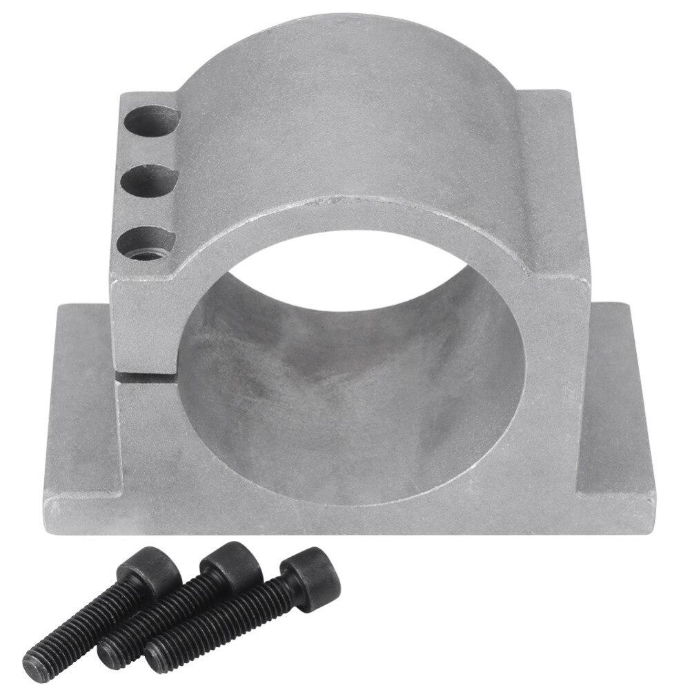 80mm Broche Support de Montage Pince Machine De Gravure Pièces Linéaire Mouvement Broche Motor Mount Bracket avec 3 Vis