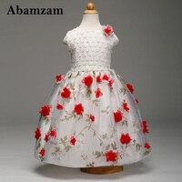 Формальные дети подарки Нарядные платья для свадьбы и праздника Одежда Европейский Детские Детское платье для девочек модное высококачест...
