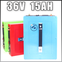 36V 15AH Electric bike Lithium ion Battery 36V 500W Ebike BBS02 Battery Waterproof case 5V USB Port