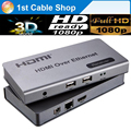 USB HDMI KVM extender by cat5e/6 up to 120M TCP/IP compliant suports 1 sender to N receivers HD1080P