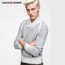 JackJones marke Hochwertige Mode Casual Kaschmir-pullover Männer Stricken Und Pullover 214425007