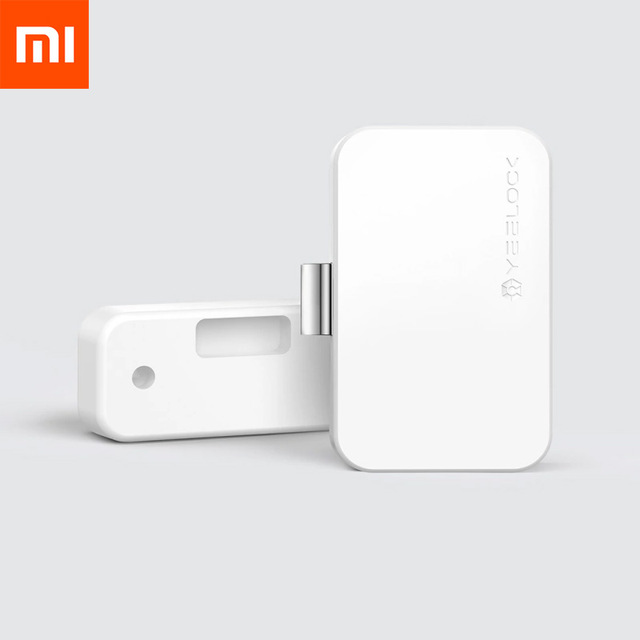 Xiaomi MIjia YEELOCK Smart Drawer Cabinet Lock Keyless Bluetooth APP Unlock Anti-Theft Child Safety File Security Drawer switch