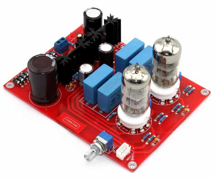 KYYSLB 2018 6N3 Tube Preamplifier (Matisse circuit) AmplifierS board AC40 or 44V 10W Home Amplifier