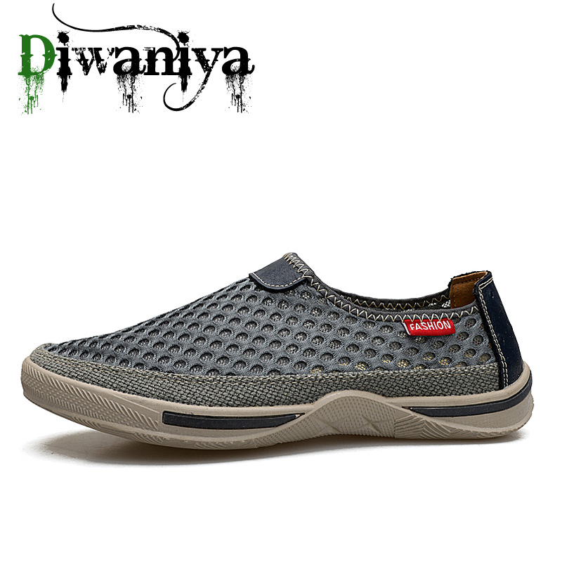 Hot Sale Ultra Light Mesh Breathable Walking Shoes Man Spring Autumn Athletic Trainers Male Sport Footwear