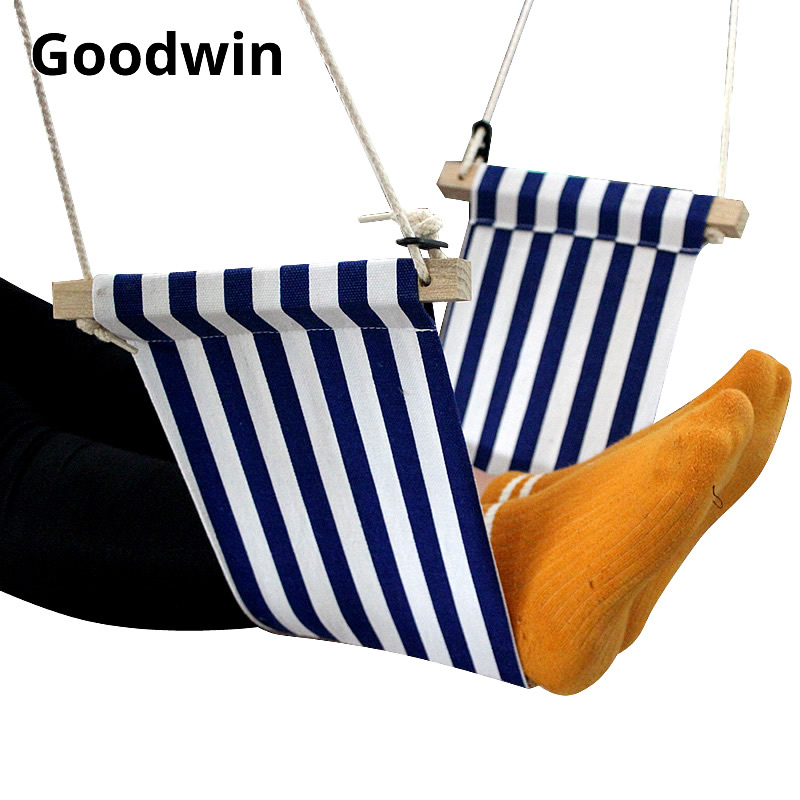 Leisure Desk Feet Hammock Office Foot Rest