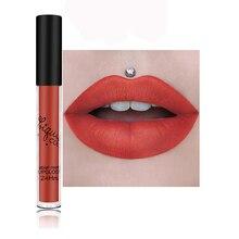 Matte Lip Gloss Sexy Liquid Long Lasting Waterproof Cosmetic Beauty Keep 24 Hours Makeup lip