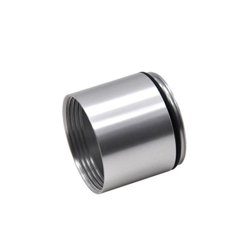 """HORNET Stash Jar-герметичный, устойчивый к запаху алюминиевый контейнер для специй с 2 слоями, чехол для табака """"вы можете собрать его самостоятельно"""" - Цвет: Silver"""