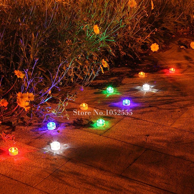 Driveway Night Lights: ⑥New Solar Led Underground Light Emergency Driveway/Garden