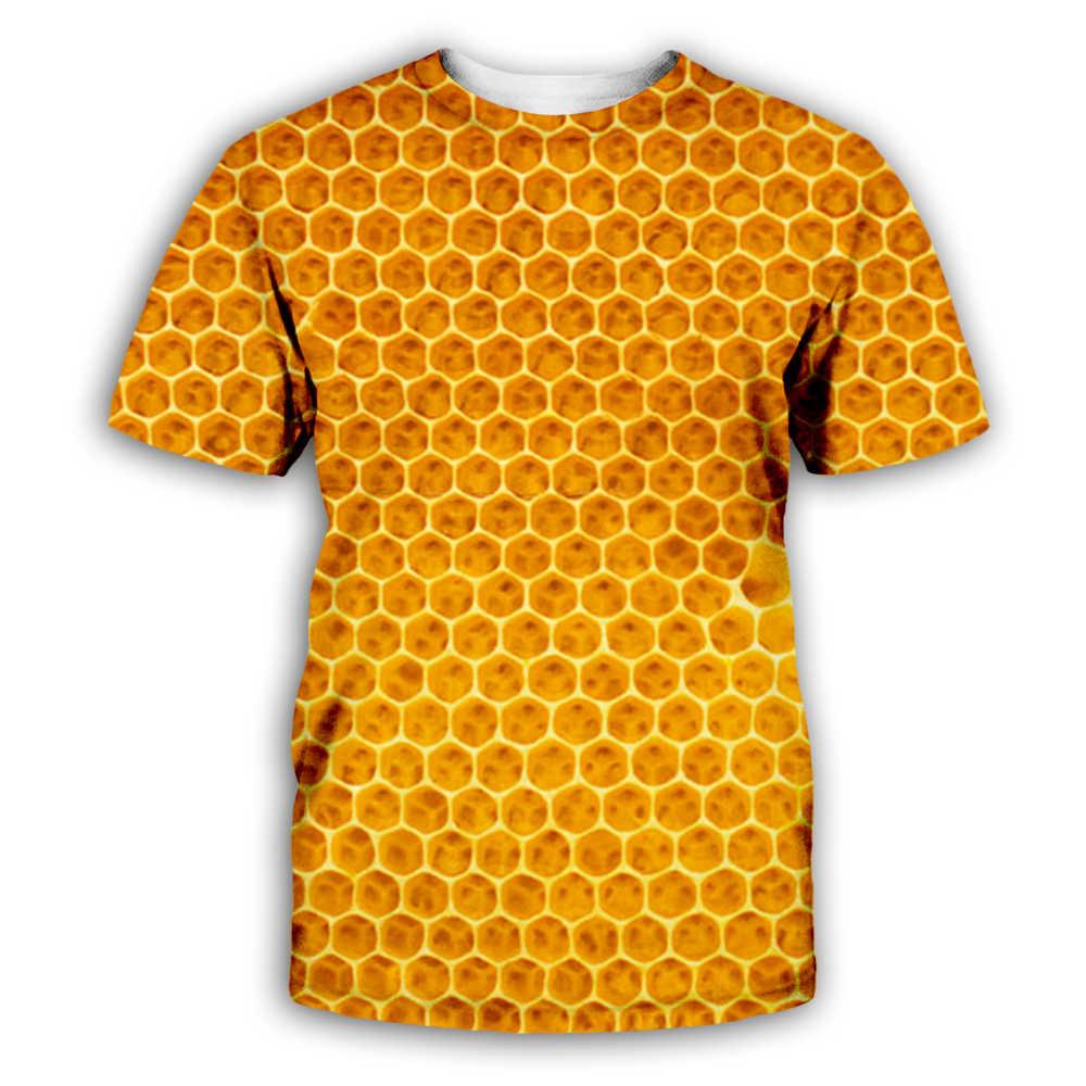 Yaz hayvan arı baskı T Shirt 3D erkekler kadın tee streetwear kazak Harajuku eşofman Hip Hop rahat gömlek Dropship BEE0006