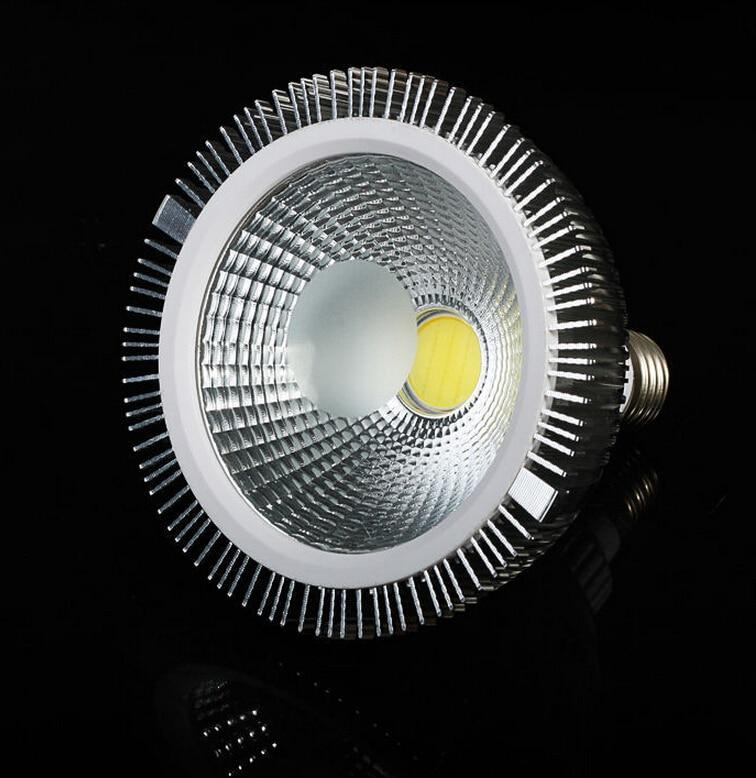 High Power 15W/20W E27 COB PAR30 PAR38 LED light Spotlight Bulb Lamp 2000lm Cool/Warm White Free shipping 2pcs lot e14 3w cob led spotlight support dimmer warm white3000 3200k white6000 6500k high brightness 300lm free shipping