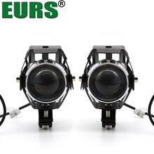 EURS U5 Motoecycle trabalho lâmpadas 125 W Auto LEVARAM luzes de nevoeiro faróis 12 V Daytime running luz Acessórios de Moto 3000lm alta qualidade
