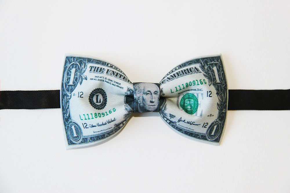 Origami-Instructions.com: Money Origami Bow Tie | 667x1000
