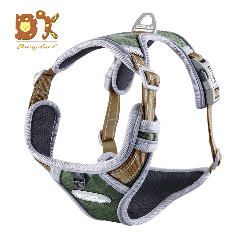 Dog Harnesses For Large Dogs Supplies Vests Pet Products Factory Vest Harnesse Dog Pet Harness For Cats For Pet Dogs Collar 2018 in Harnesses from Home Garden