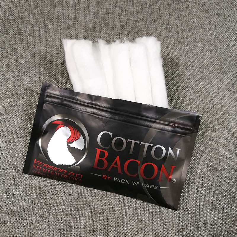 2018 Electronic Cigarette  Cotton Bacon Soft DIY Dream Cotton for RDA RBA Atomizer Heating Wire Vape Cotton цена