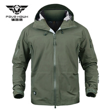 Men Tactical Jackets Shark Hard Shell Military Hooded Waterproof Coat Man Windproof Army Clothing Camouflage Combat Windbreaker s archon assassin military jacket men waterproof windbreaker tactical jackets spring autumn combat coat