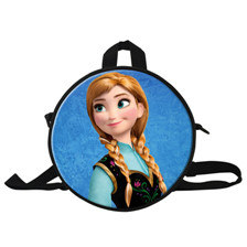 One Direction Printing School Bags for Children 10 Inch Round Schoolbag Kids Book Bags School Bags for Boys Girls 1D Mochilas