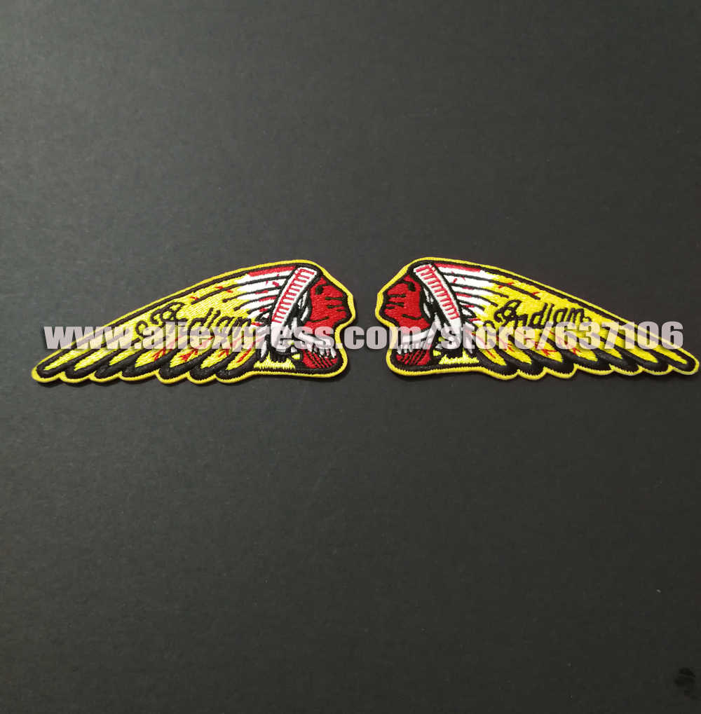 Detail feedback questions about custom indian patches for motorcycle clothing jacket badges applique sticker biker iron on sewing on patches accessories on
