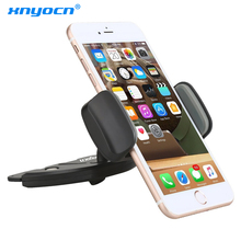 Newest Adjustable 360 Rotation Universal Car CD Slot Mobile Phone Mount Holder Stand for IPhone 6 8 for Samsung S5 S6 S7 Edge S8