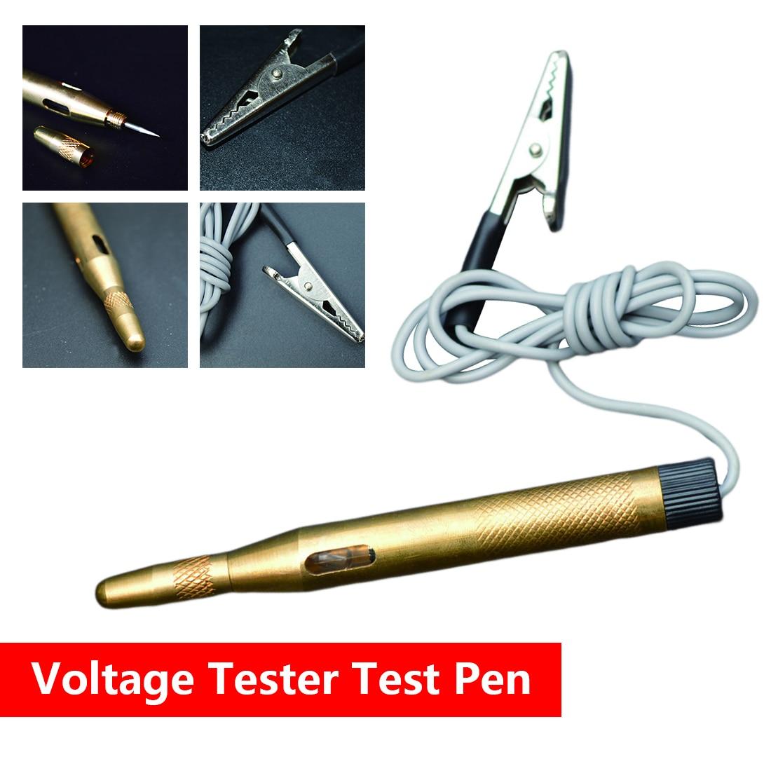 New DC 6-24V Auto Car Light Circuit Tester Lamp Voltage Test Pen Detector Probe