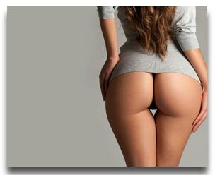 The Sexy Girl  A Fat Ass Canvas Custom Poster  U