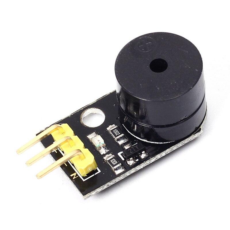 DC 3-5V Active Buzzer Module Audible <font><b>Visual</b></font> Alarm Module Low Level Trigger MCU Passive Buzzer Digital Buzzer Module for Arduino