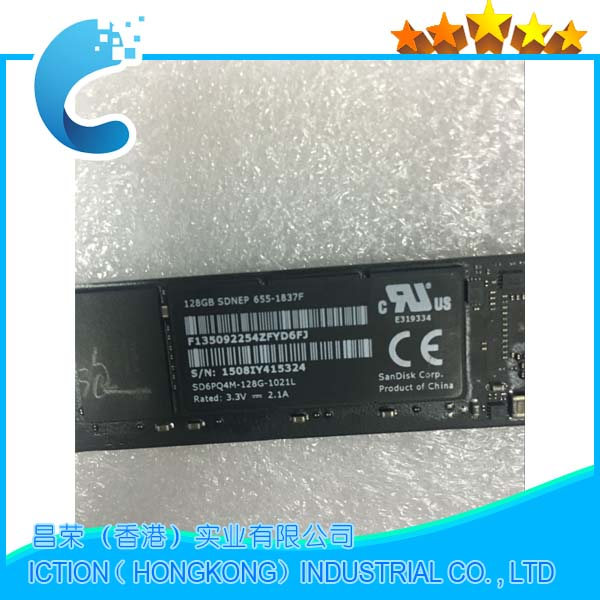 Original  512GB SSD Internal Solid State Drives For Macbook Air 11'' A1465 /Air 13'' A1466 2012 MD223 MD224 MD231 MD232