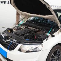 mili For 2016 2019 Skoda Octavia A7 MK3 Car styling Refit Bonnet Hood Gas Shock Lift Strut Bars Support Rod