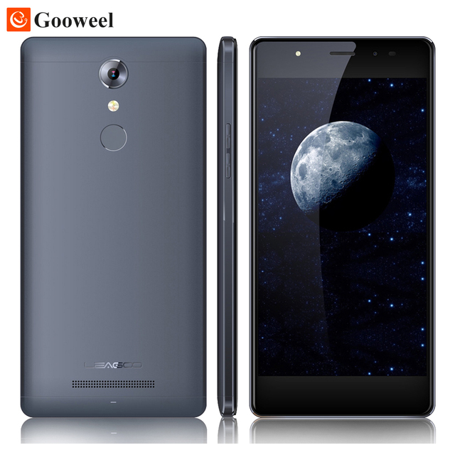 "Leagoo T1 Teléfono Móvil Androide 6.0 2 GB 16 GB 13MP 5.0 ""HD 4G Smartphone MTK6737 Quad Core 1.3 GHz de Huellas Digitales 1280x720 HD Celuar"