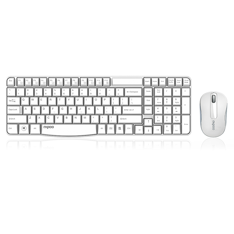 RAPOO X1800S USB 2 4G Wireless Optical Mouse and Keyboard Combo 1000 DPI For Home Office
