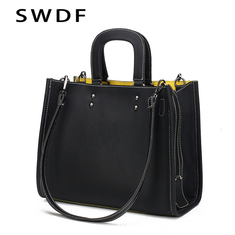 SWDF-Women's Shoulder Bag PU Women Zipper Handbags Bucket Bag Ladies Hand Bags Casual Big Female Floral Tote Bag for Ipad hisuely 2017 vintage skull shoulder bags women bucket pu leather with silk female black handbags ladies casual chain tote bag