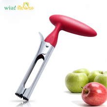 Wind flower Stainless Steel Apple Heart Corer Fruit Seed Core Remover Creative Kitchen Gadgets & Vegetable Tools