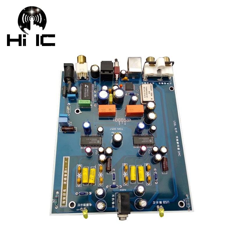 Aktiv Hifi Digital Audio Decoder Tda1305t Dac Eingang Otg/usb/koaxial/optische Ausgang Rca/3,5mm Verstärker Diy Soundkarte GroßEr Ausverkauf Tragbares Audio & Video