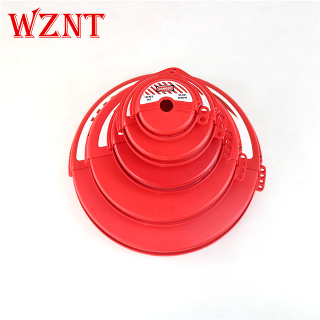 NT-F485 Industrial Gate Valve Lock Lockout PVC Dupont engineering plastics lockout lock handwheel lock cover
