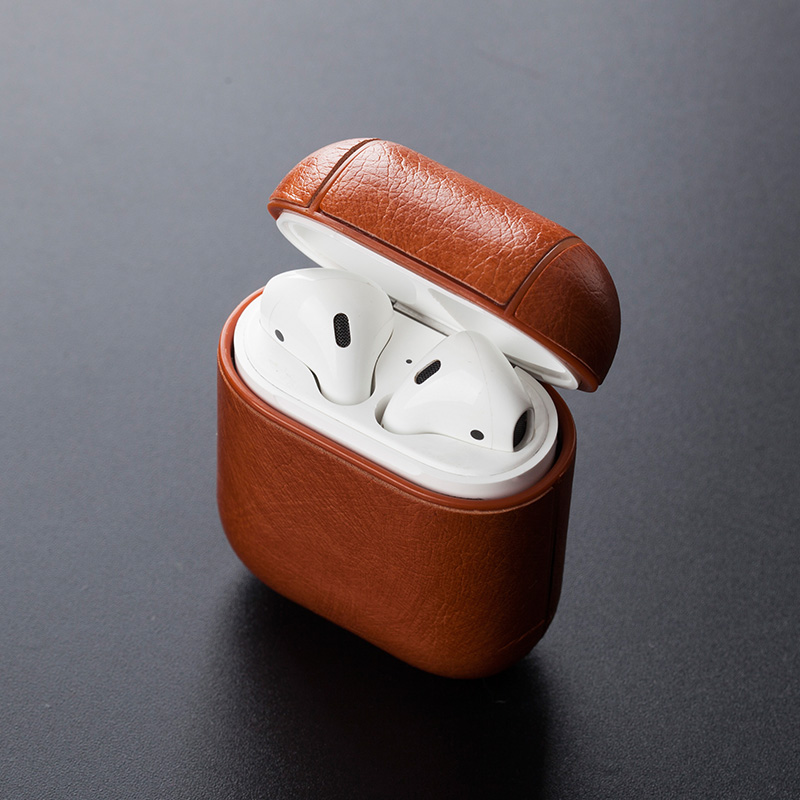 For Apple Airpod 1 Airpod 2 Strap Leather With Buttons Headphone Case Earphone Case Accessories For Airpods 3 Bluetooth Wireless