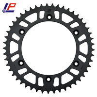 LOPOR 520 52T Motorcycle Rear Sprocket For YAMAHA IT250 TT250 TT600 TTR250 WR125 WR200 WR250 WR400 YZ125 YZ250 YZ400 YZ465 YZ490