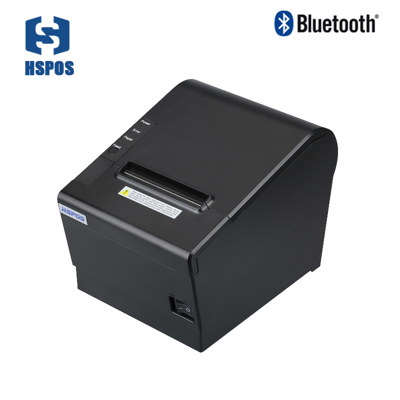 Hot sale 80mm pos receipt printer with cutter usb and Bluetooth port printers for smartphones HS-J80UAI 80mm pos receipt printer with bluetooth wifi
