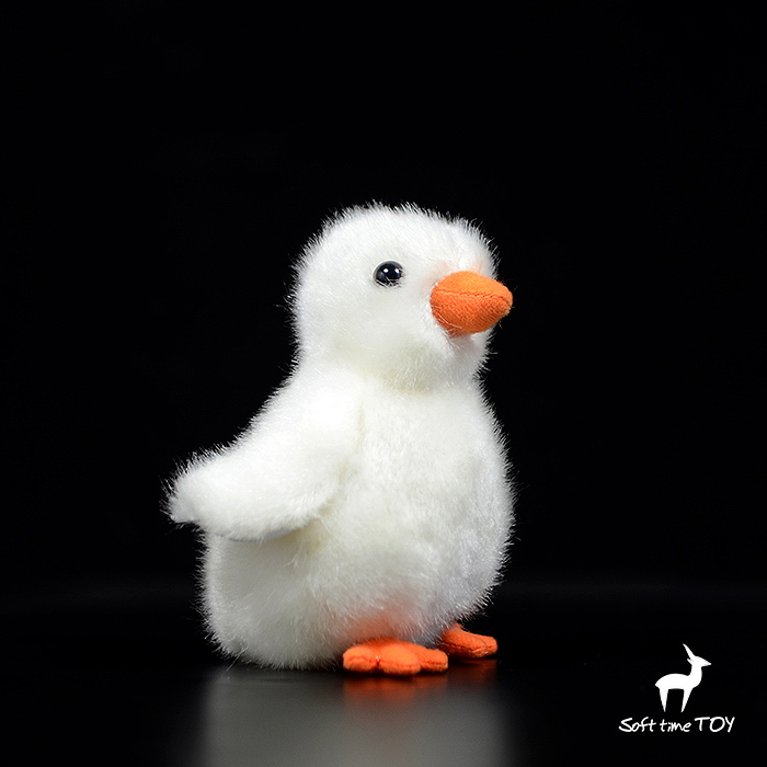 Kawaii Baby Chick Doll Toy Real Life Plush White Chicken Dolls Kids Toys Holiday Gifts Soft And Good Quality Newst