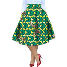 Women Africa Print Skirts Ladies Dashiki Clothes Festive Costume Simple And Generous Design Custom Made African Skirt